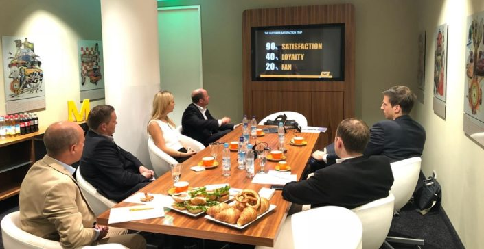 ServiceRating Business Breakfast mit Sixt